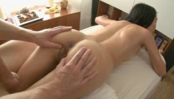 Pounded by a plumber