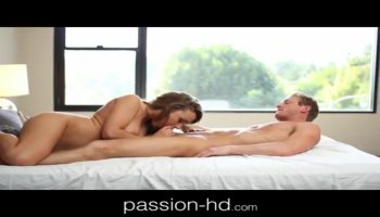 Blonde masseuse makes a dude cum by milking his prostate