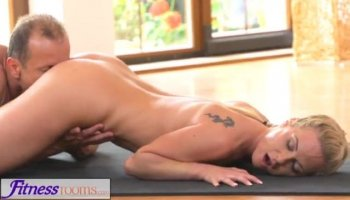 Lesbian sweethearts get excited of skillful toying